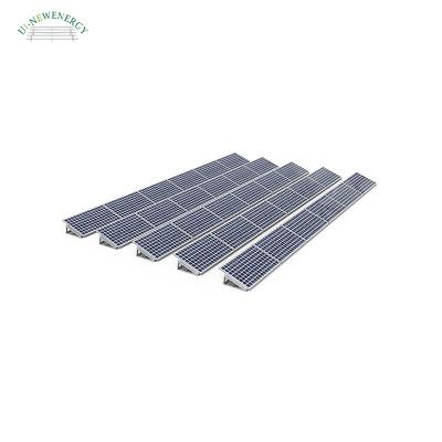 rooftop solar mounting structure