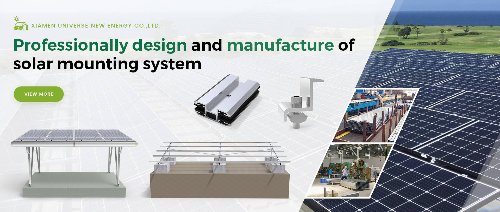 Solar mounting system manufacturer and design